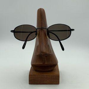 Vintage Classic C3 Black Oval Sunglasses Frames